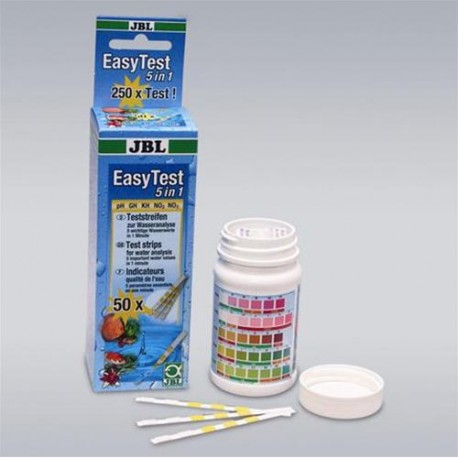 JBL - EASY TEST 6 IN 1 50 card test