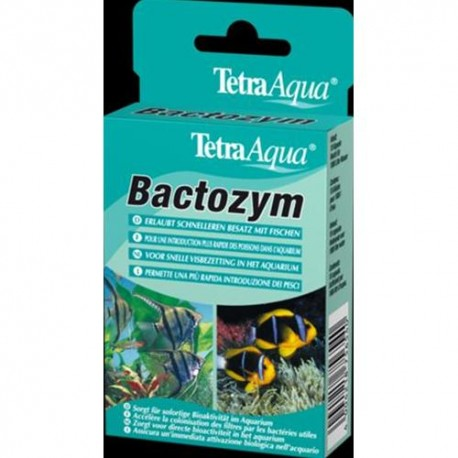 TETRA - Bactozym Batteri x Filtro 10 cps.
