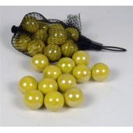 ACQUAPROGET - Palline gialle mm.24 gr.250 sacc.