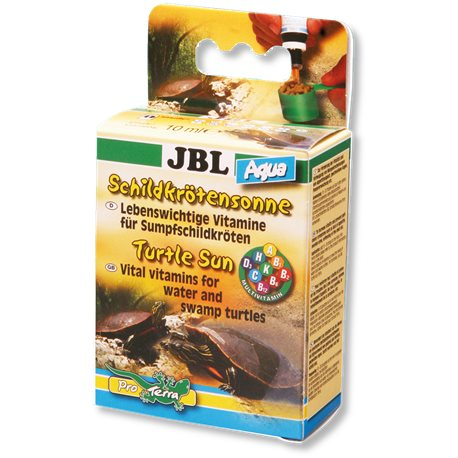 JBL - SOLE x Tartarughe acqua VITAMINE 10 ml