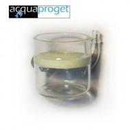 ACQUAPROGET - DIFFUSORE CRISTALLO CO2 ANGOLO DIAM.MM.30