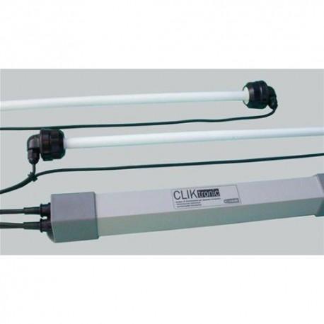 CLIKtronic CEAB c/portalampada T5 2x24watt