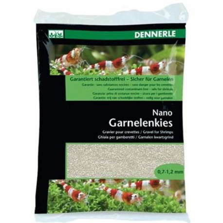 DENNERLE - NANO GHIAIA Bianco Sonda per Gamberetti 2KG