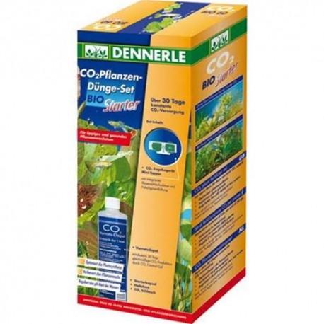 DENNERLE - Set di Fertilizzazione CO per piante Bio 60 Starter